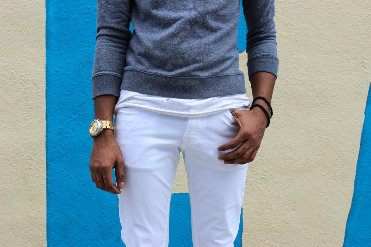 Classic. White.