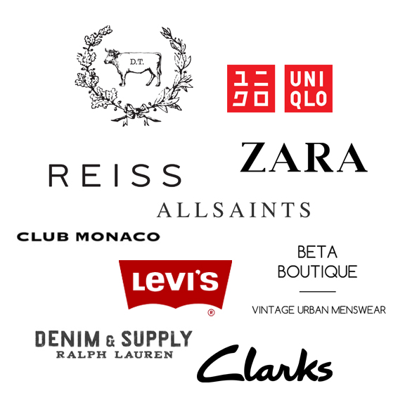 clothing brands for men