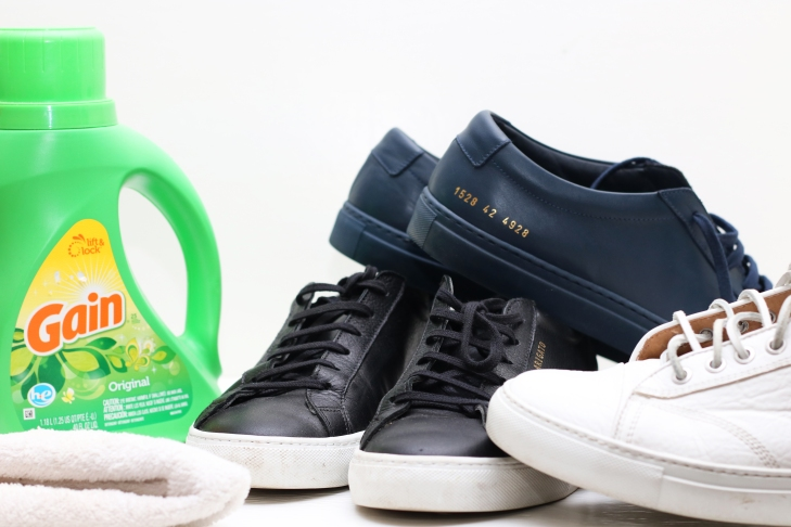 The Trick to Keeping Your Sneakers Clean